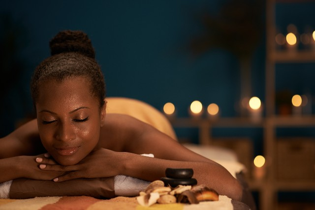 Body Treatments - Woman Relaxing